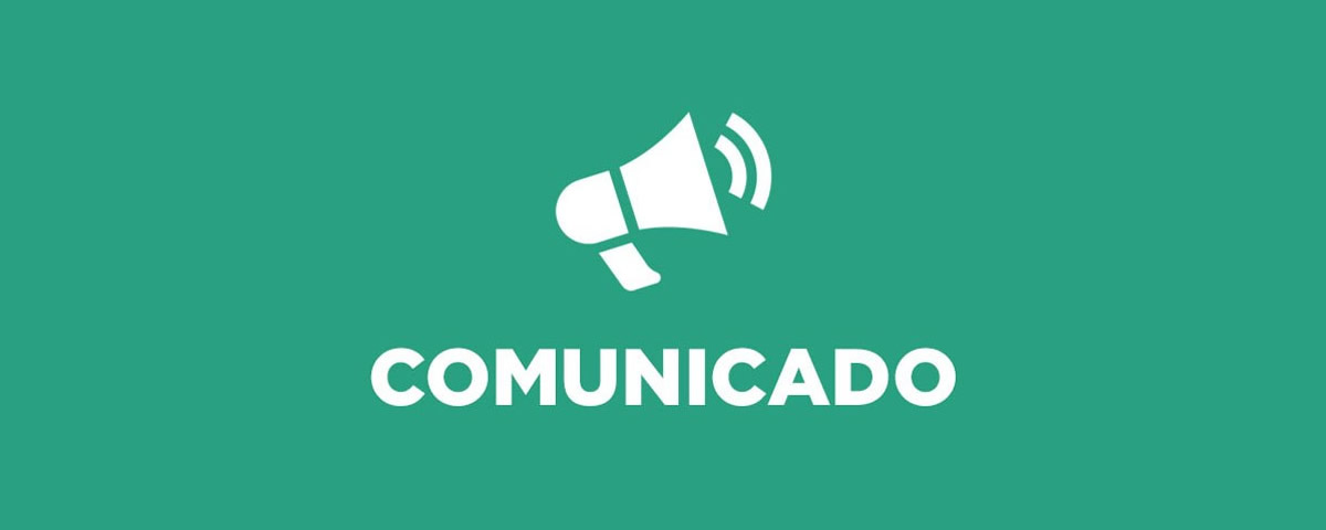 You are currently viewing COMUNICADO