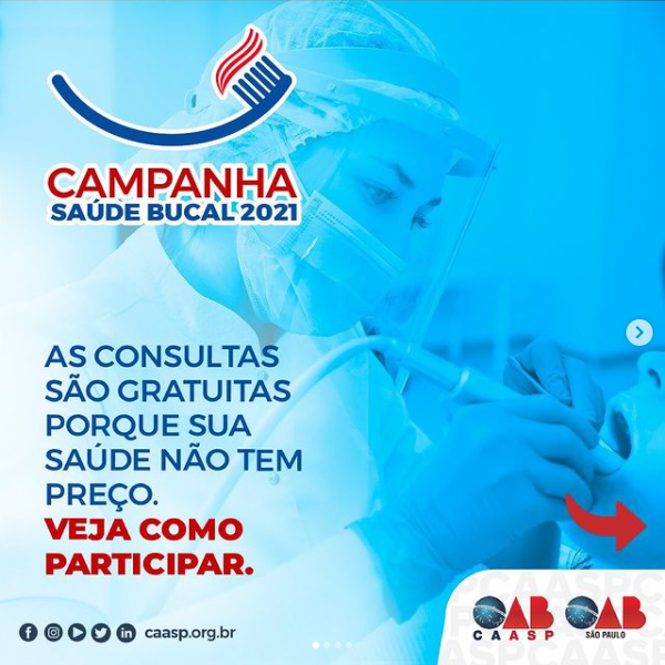 You are currently viewing Campanha Saúde Bucal 2021